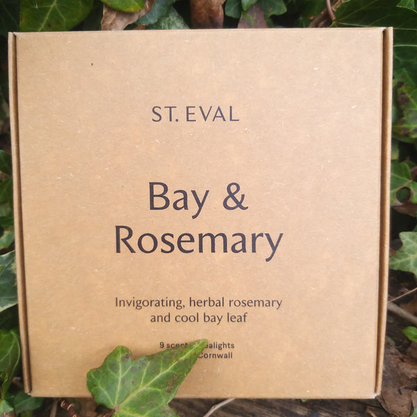 St Eval Bay & Rosemary Tealights