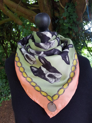 Sale The Graduate Collection Hand Drawn Silk Scarf