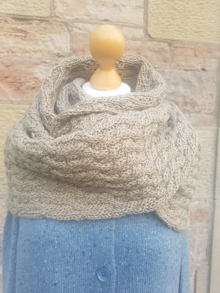 Irelands Eye Knitwear Cable Snood