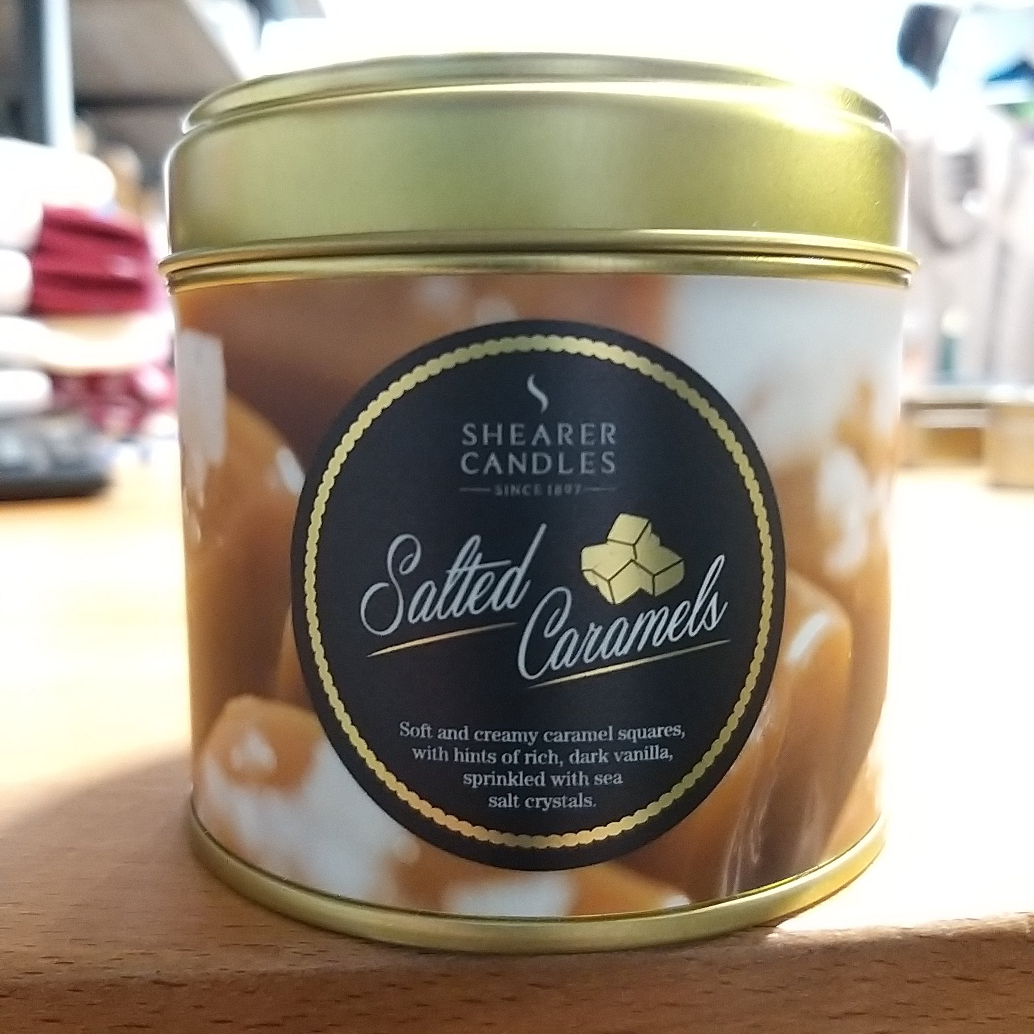 Shearer Salted Caramel Large Candle