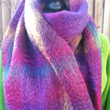 Green Grove Weavers Mohair Scarf