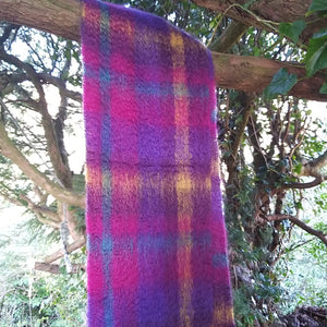Green Grove Weavers Scottish Mohair Scarf