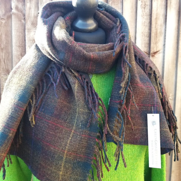 Green Grove Weavers Scottish Scarf/Wrap
