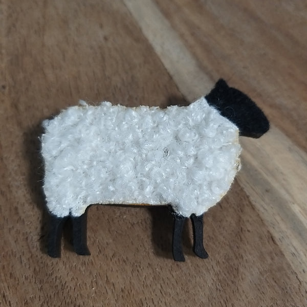 Handmade Scottish Sheep Brooch