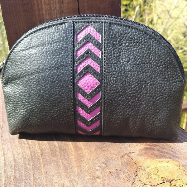 Leather Becky Makeup Bag