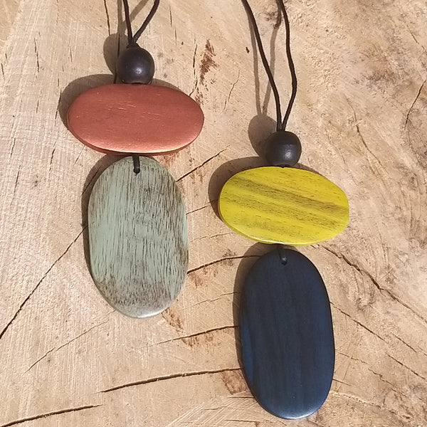 Stylish Wooden Pendant