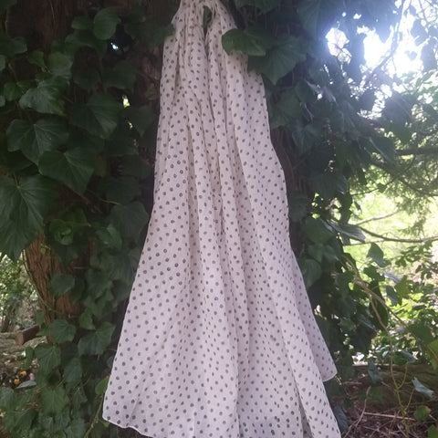 Handmade Polka Dot Cotton Wrap