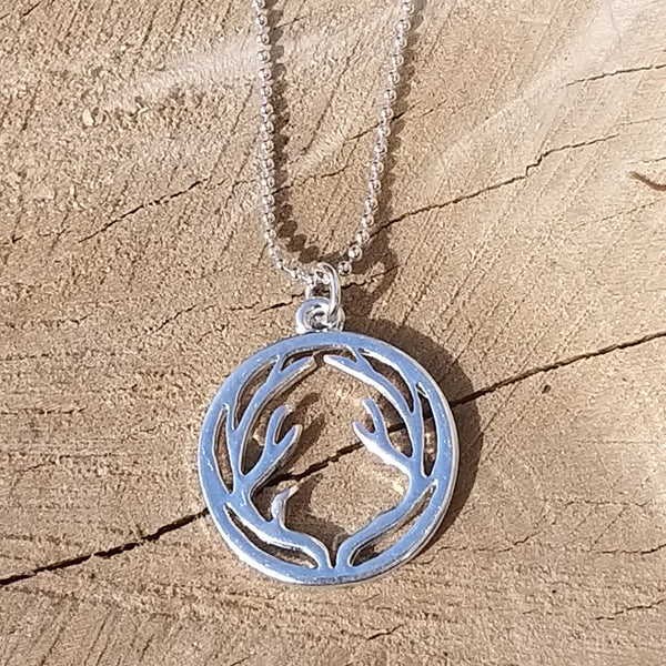 Stylish Stag Necklace