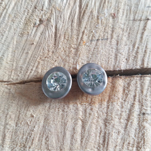 Stylish Stone Stud
