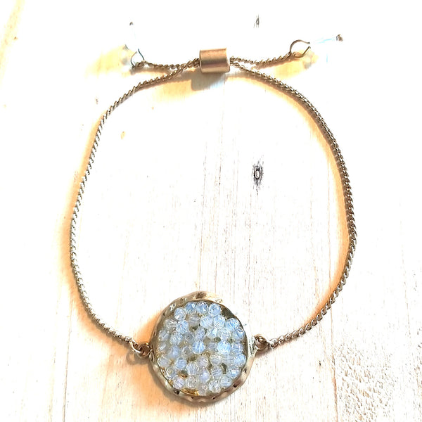 Stylish Gem Stone Bracelet