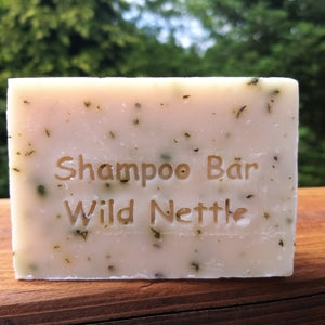 Scottish Organic Wild Nettle Shampoo Bar