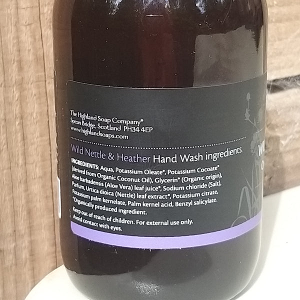 Wild Nettle & Heather Organic Hand Wash