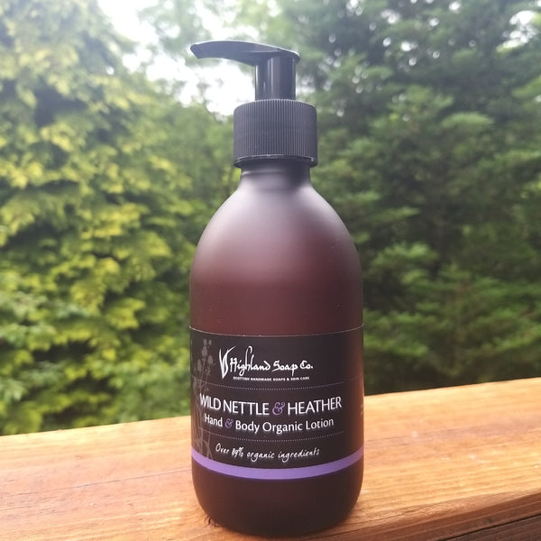 Hebridean Seaweed Hand & Body Organic Lotion + Wild Nettle & Heather