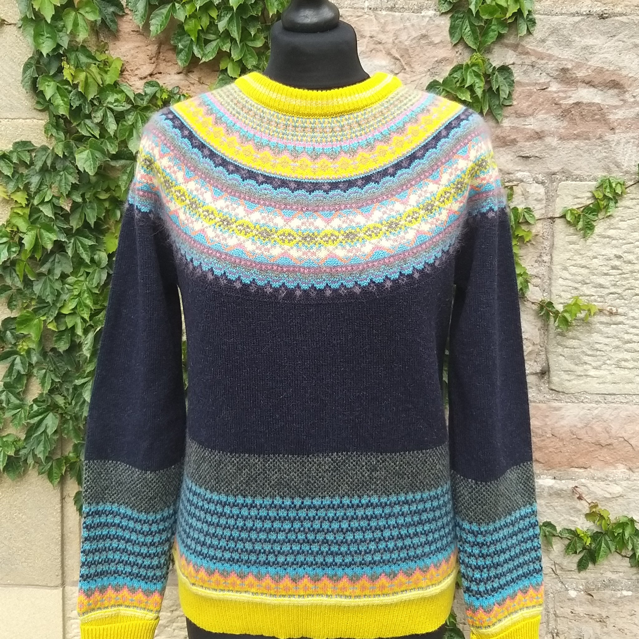 Eribe Alpine Sweater P3974 Moonflower