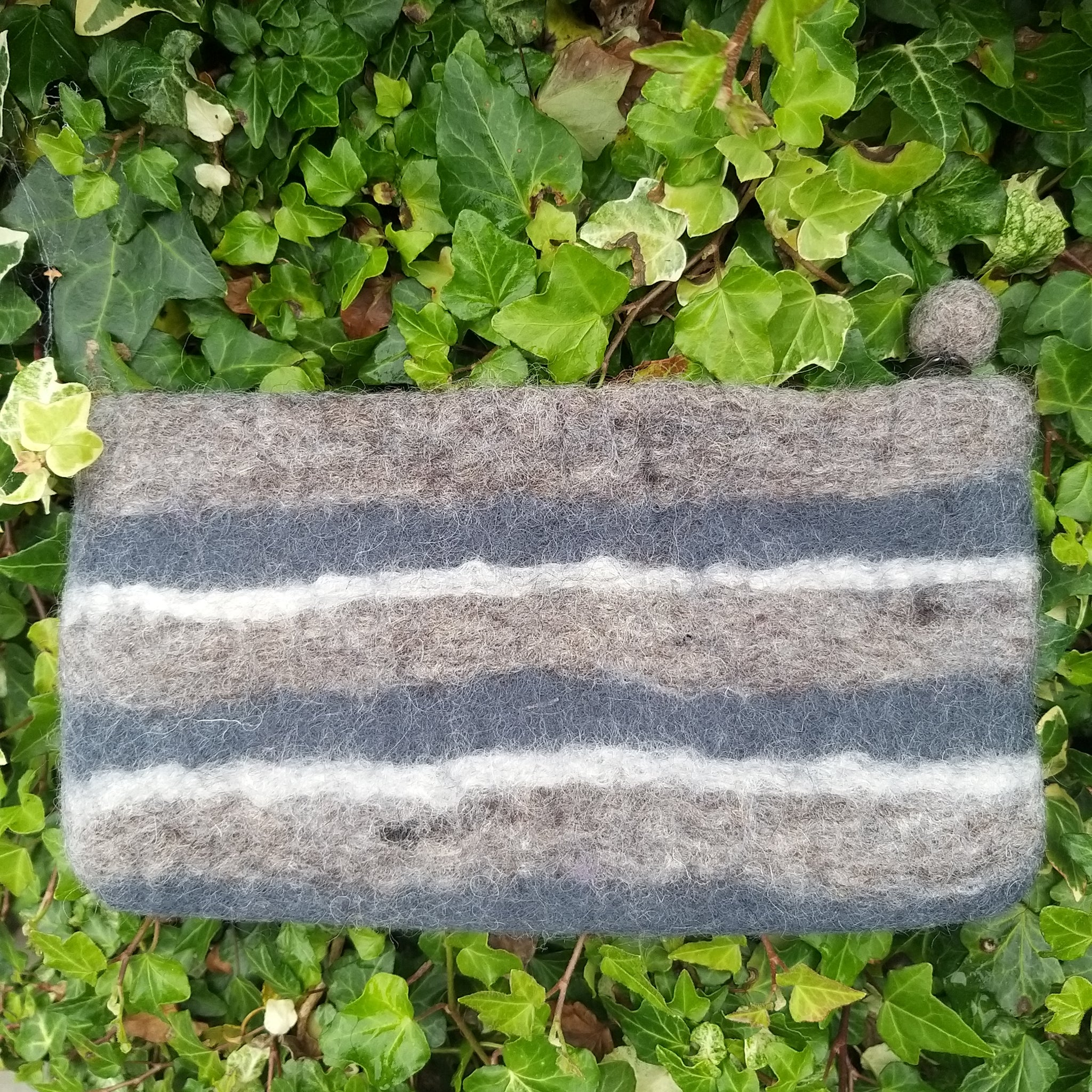 Felted Make Up Pouch/Purse