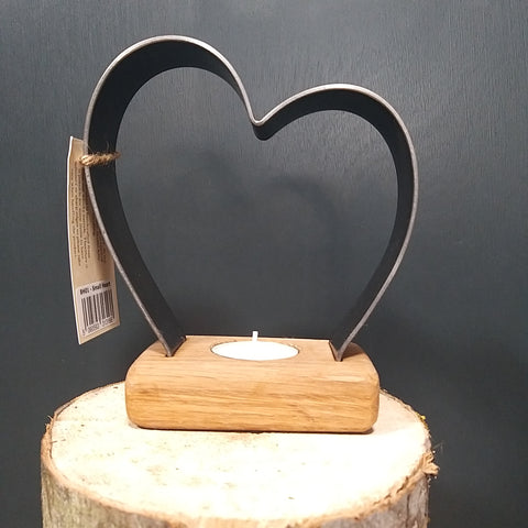 Handcrafted Heart Tealight
