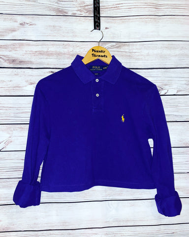 Ralph Lauren polo cropped top