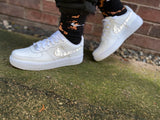Nike AF1 custom - reflective swoosh Dior men's