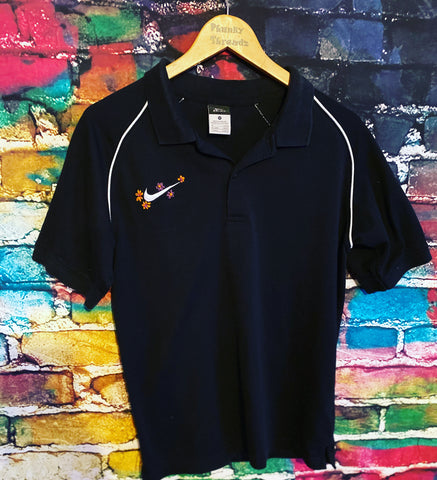 Nike polo reworked T-shirt