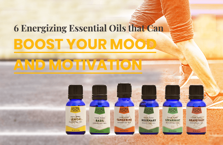 6 Energizing Essential Oils that Can Boost Your Mood and Motivation