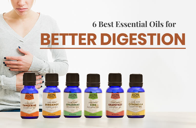 6 Best Essential Oils for Better Digestion