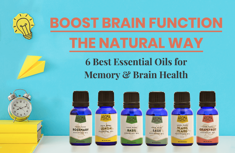 Boost Brain Function the Natural Way: 6 Best Essential Oils for Memory & Brain Health