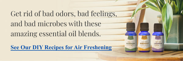 Essential oil recipe for air freshening