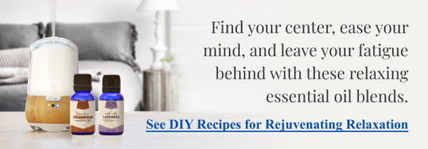 relaxing essential oil recipes