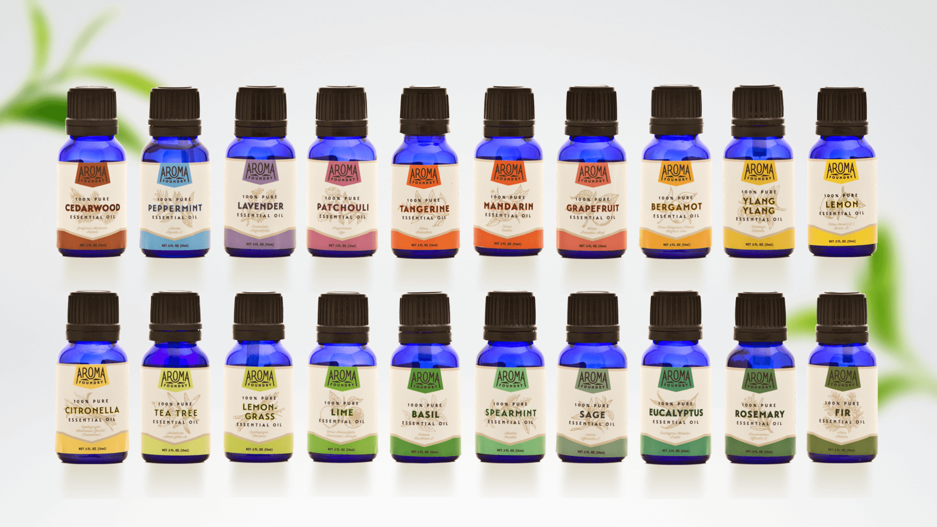 essential oils for brain health by Aroma Foundry