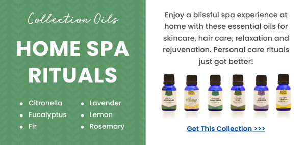 home spa essential oils