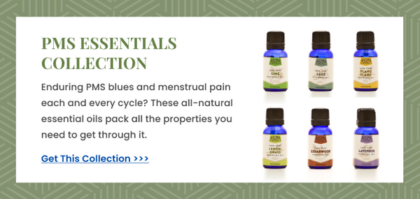 essential oils for PMS