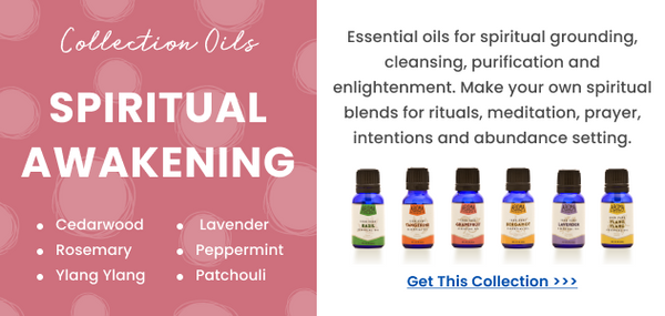Essential oils for spiritual awakening