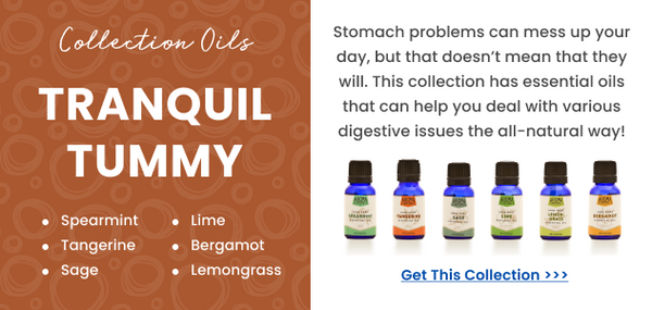 Essential oils for calm tummy