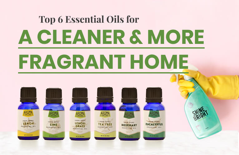 Top Essential Oils to Have for a Cleaner & More Fragrant Home