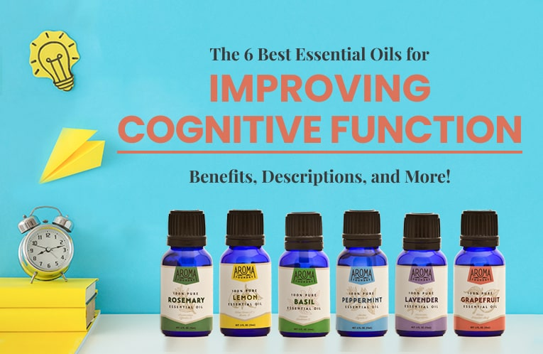The 6 Best Essential Oils for Improving Cognitive Function: Benefits, Recipes, and More