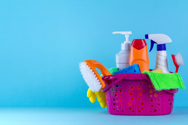household disinfectants with essential oils for cleaning