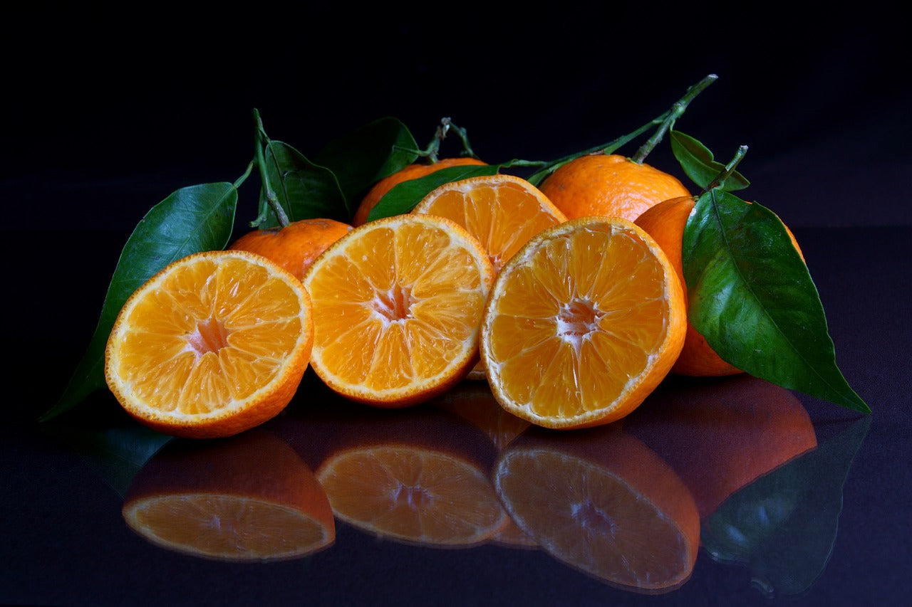 Mandarin Essential Oil Is Extracted from the Fruits' Peels