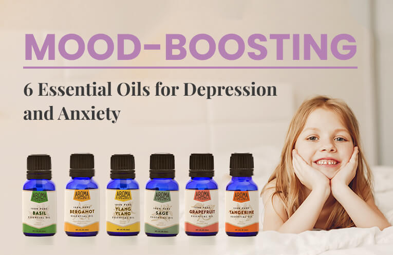 6 Mood-Boosting Essential Oils for Depression and Anxiety