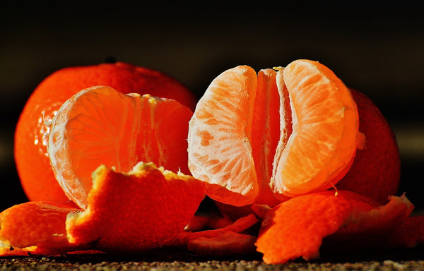 Essential Oil from Tangerine Contain Nutrients from the Fruit