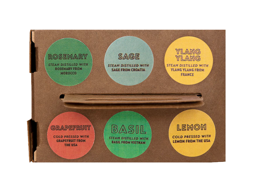 Brain Boost Scents 6-Pack