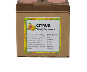 Load image into Gallery viewer, Citrus Uplifting 6-Pack