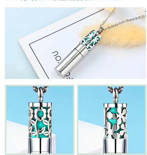 Load image into Gallery viewer, Ubelieve Essential Oil Diffuser Necklace - Daisy