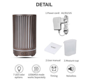200ml Ribbed Ultrasonic Diffuser