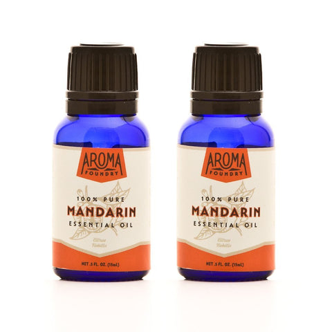 Mandarin Essential Oil Discounted Bottles