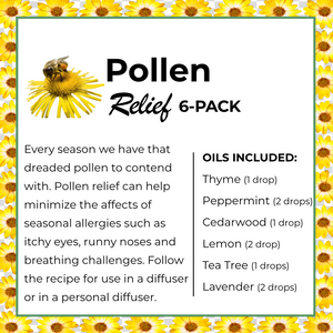 NEW - Pollen Boost 6-Pack