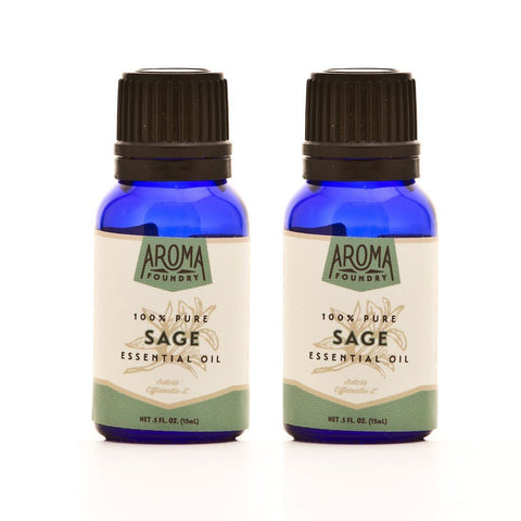 Two Bottles of Sage Essential Oil for a Bargain Price