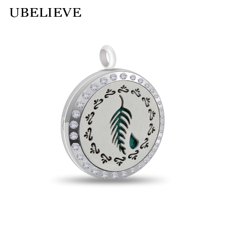 Ubelieve Essential Oil Diffuser Necklace - Leaf