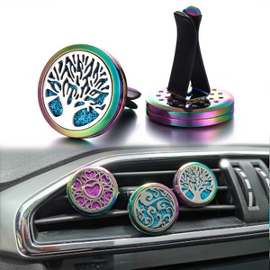 Colorful Metal Car Diffuser (4-Styles)