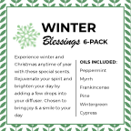 Winter Blessings  (NEW) 6-Pack