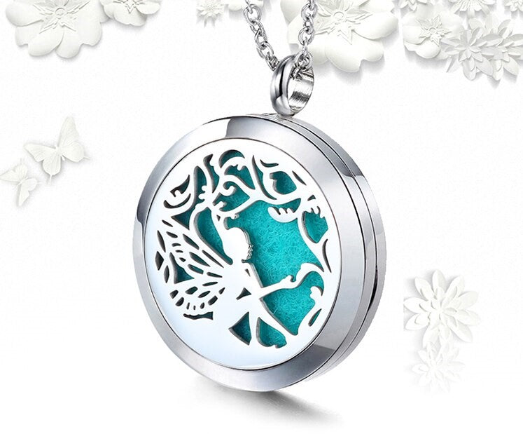 Ubelieve Essential Oil Diffuser Necklace - Fairy